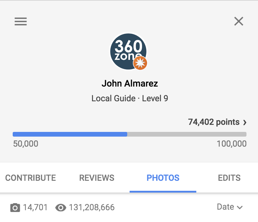 Our San Antonio Photos have been viewed over 131 times on Google.