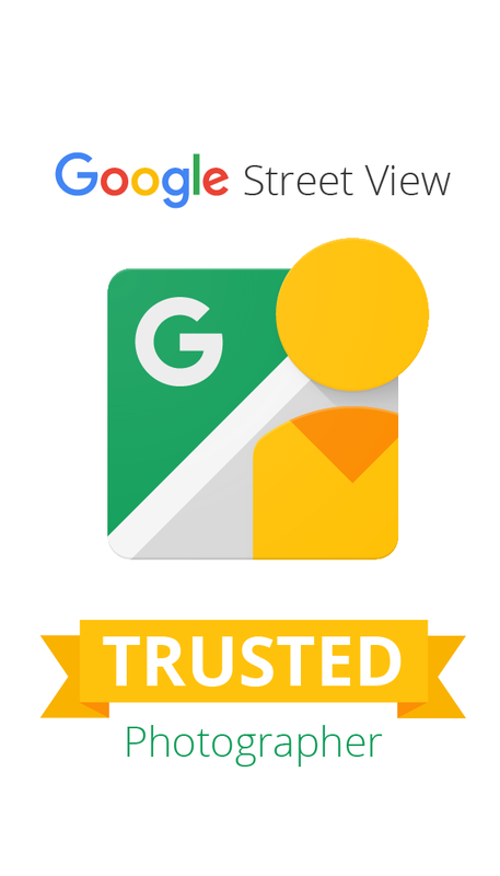 Google Street View Trusted photographer in San Antonio, Texas.
